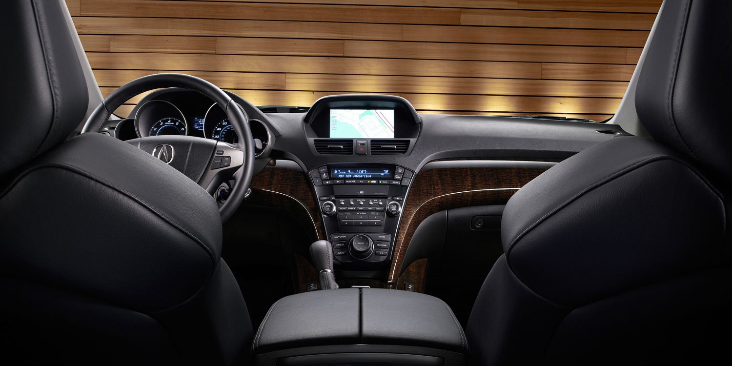 2012 Acura MDX with Advance Package and Ebony interior | Acura.com