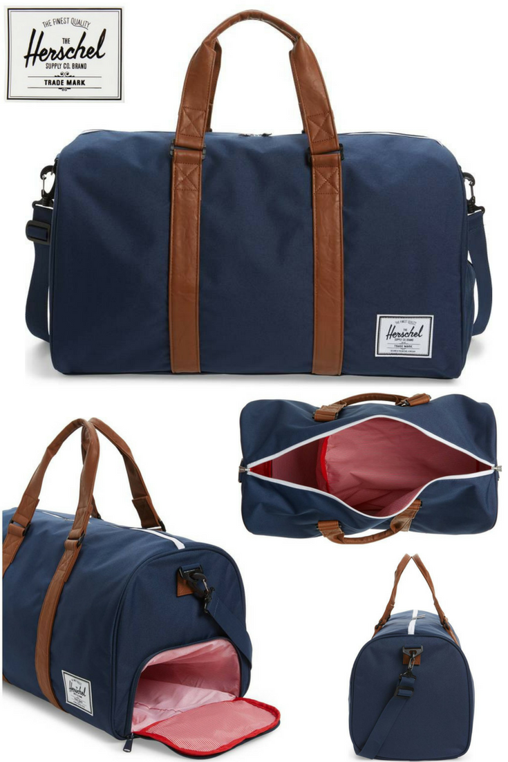 4e103f33310a 'Novel' Duffel Bag - Double carrying handles define a classic duffel  designed with an exterior zip shoe compartment to protect interior contents  from dirt ...