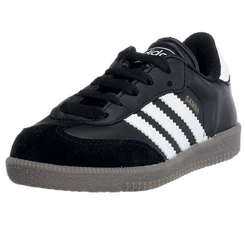 timeless design 4db16 275e6 Amazon.com  adidas Samba Classic Leather Soccer Shoe (Toddler Little Kid Big  Kid)  Shoes