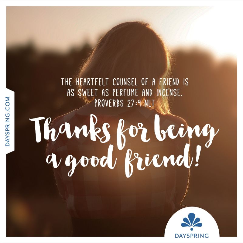 Bible Verse For A Freind: Friendship Ecards