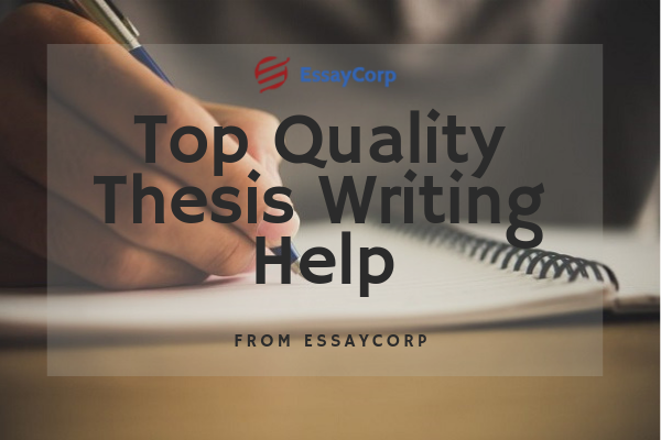Online thesis writing services help
