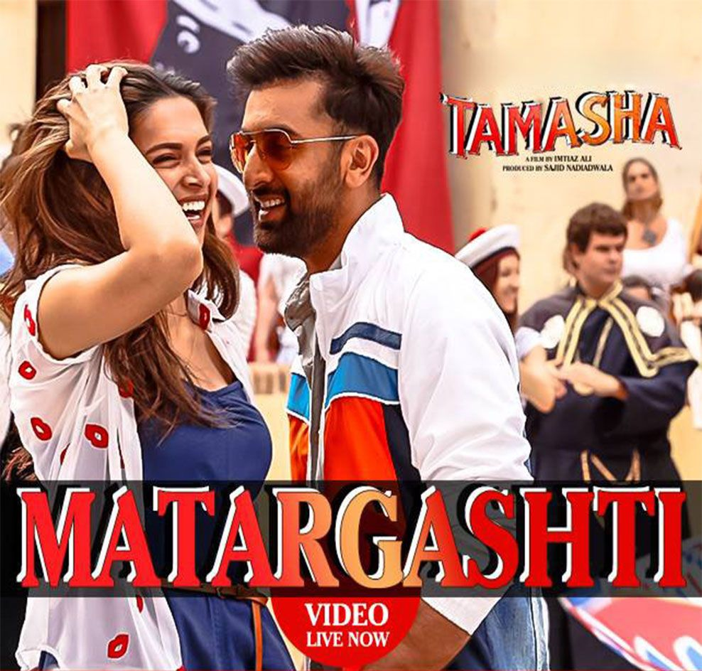 Upcoming Bollywood Film Tamasha 2015 First Songs Out Now ...