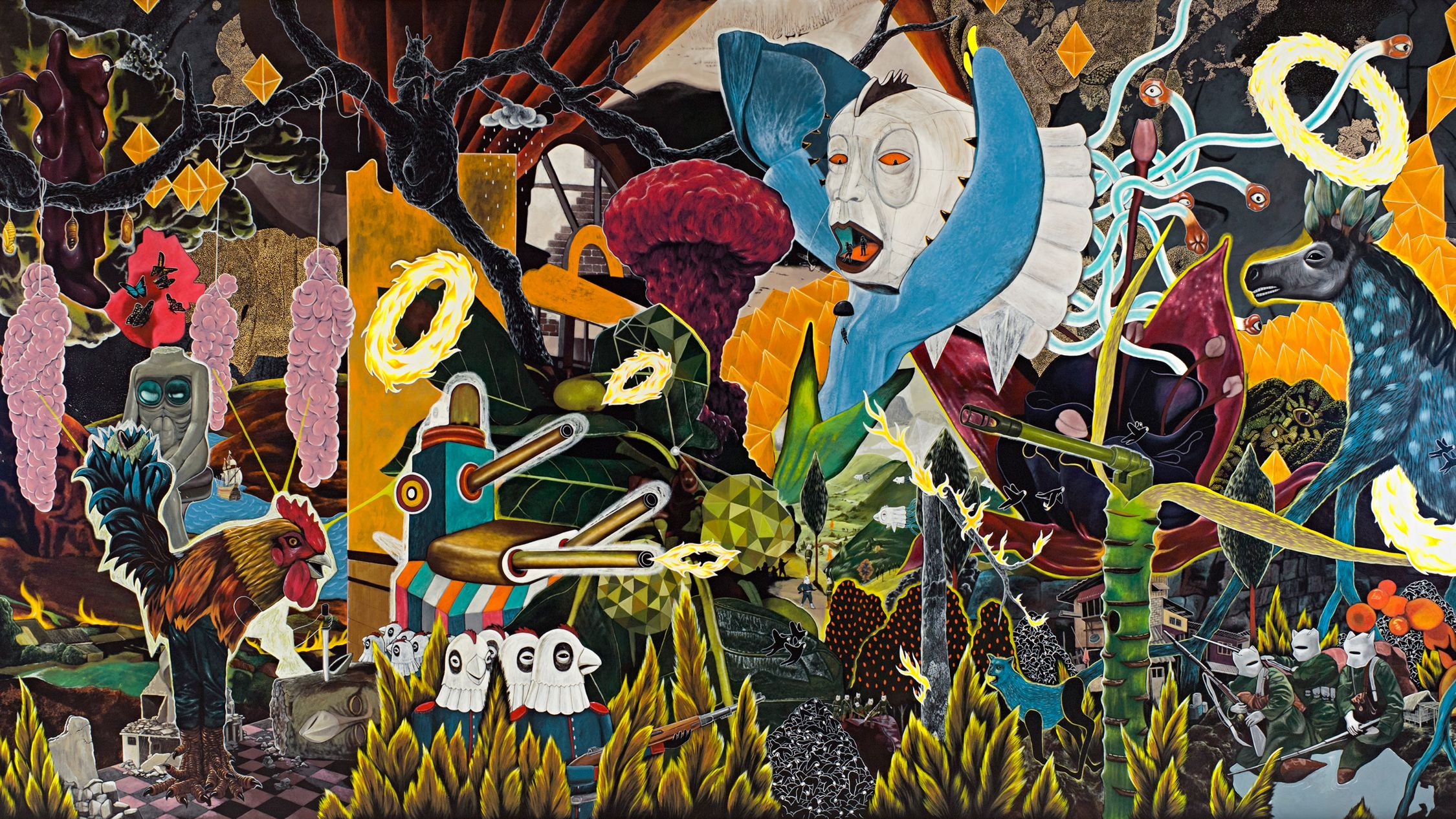This collaboration with the national museum of the philippines is the first major exhibition of filipino art to be held in australia