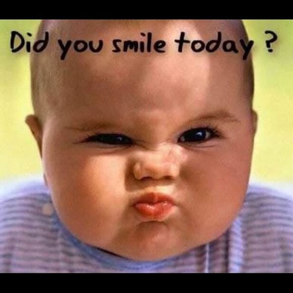 Did You Smile Today Funny Baby Pictures Funny Babies Funny Baby Images