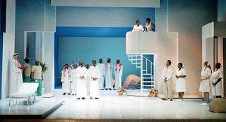 Michael Mitchell - Stage Designer: Cosi Fan Tutte #Cosifantutte