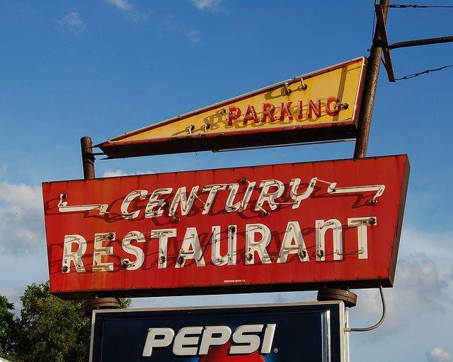 Century Restaurant Rantoul Il By Wild Mercury Via Flickr Worked Here In 87
