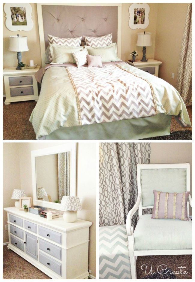30 Day Challenge Reveal - Master Bedroom Makeover | b e d r o o m s ...