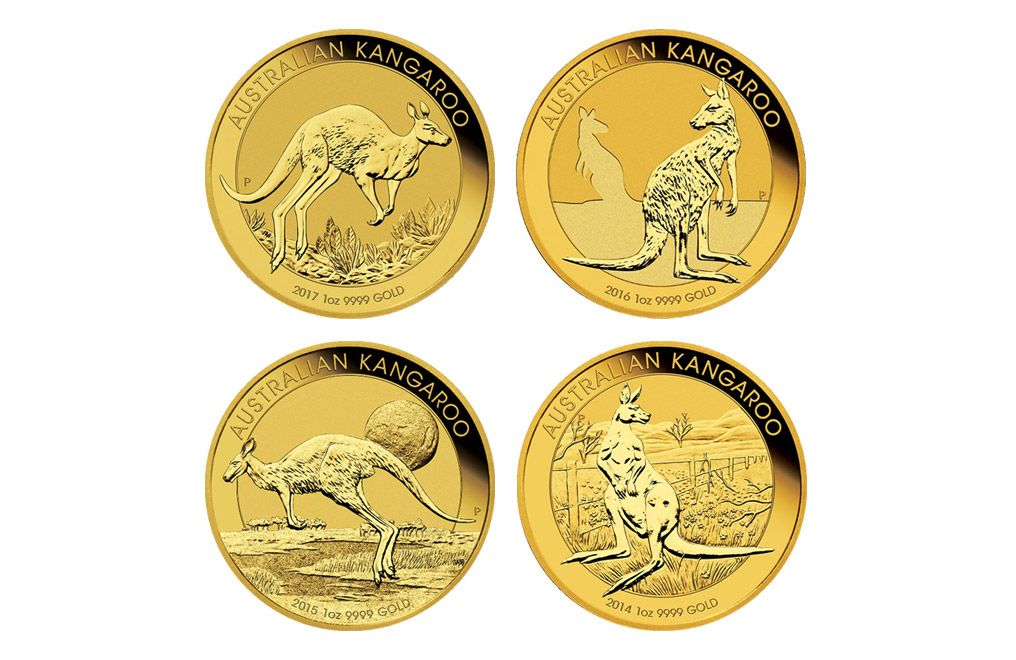 Kitco Offers 1 Oz Gold Australian Kangaroo Coin At Compeive Prices Coins And Bullion Products Online Or Call 877 775 4826