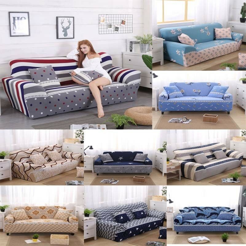 If Your Sofa Is L Shaped L Shaped Sofa Cover Only Can Be Used For L Shaped Sofa That Connected With 2 Parts One Cover For One Par Sala Comedor Sala Alfombras