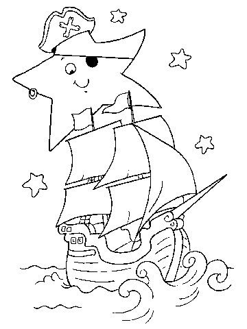 Free Coloring Pages: Pirates | coloring pages | Coloring ...
