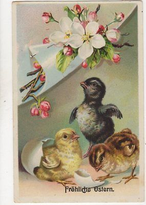 Froehliche #ostern easter greetings #germany 1914 #postcard 284b,  View more on the LINK: http://www.zeppy.io/product/gb/2/371859440101/
