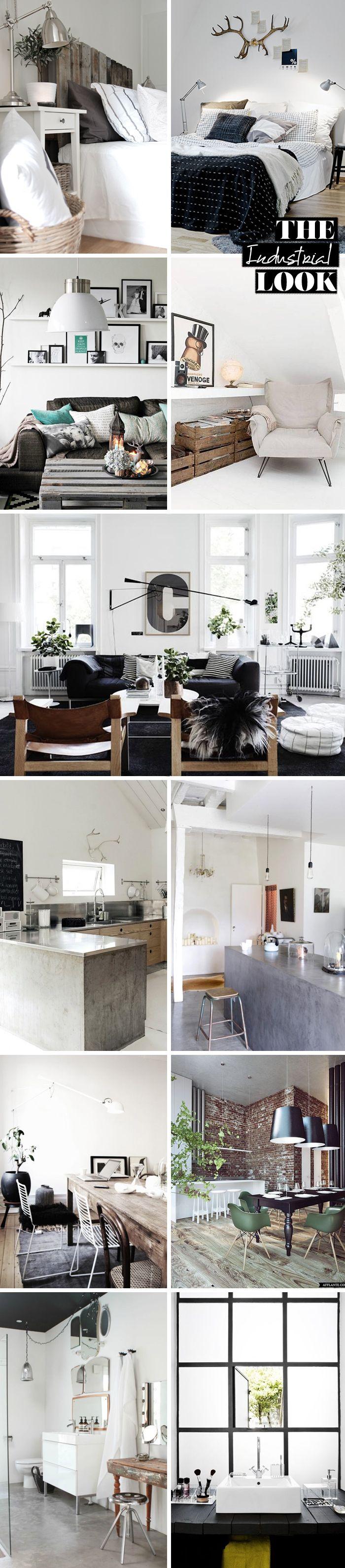 mitStil.net das Online Lifestylemagazin Wohnen mit Stil Industrial Look Übersicht #industrialfarmhouselivingroom
