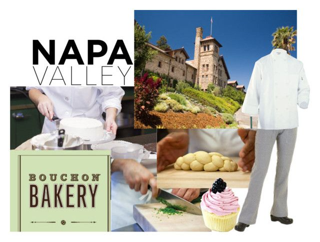 """""""Napa Valley: CIA at Greystone"""" by jchalo3 ❤ liked on Polyvore featuring interior, interiors, interior design, home, home decor, interior decorating and Chef Works"""