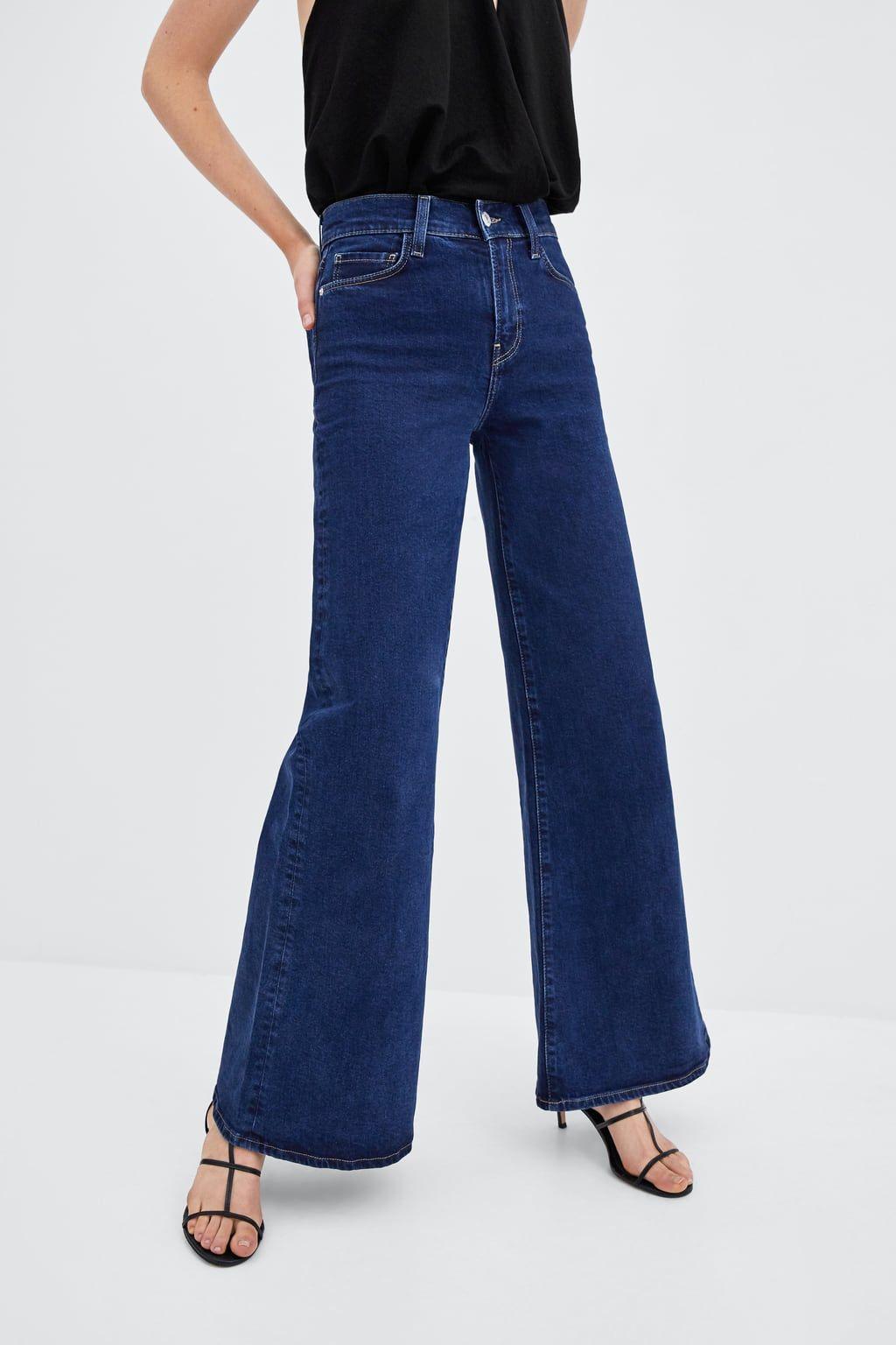 migliori scarpe da ginnastica 7fb73 44fc6 Image 4 of HI-RISE PALAZZO JEANS from Zara   Flare jeans, Jeans ...