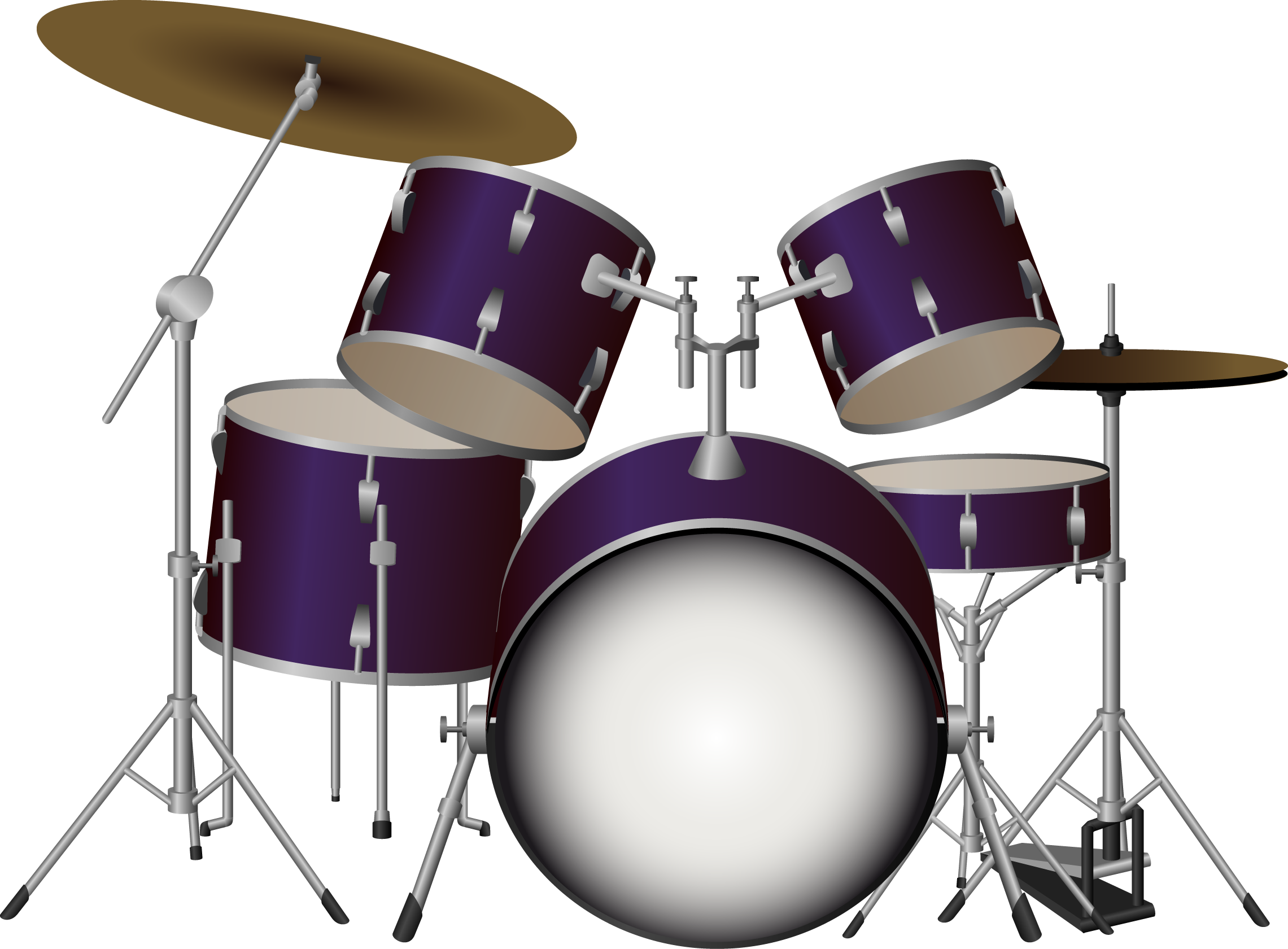 Drums Kit Png Image Drum Kits Drums Instruments
