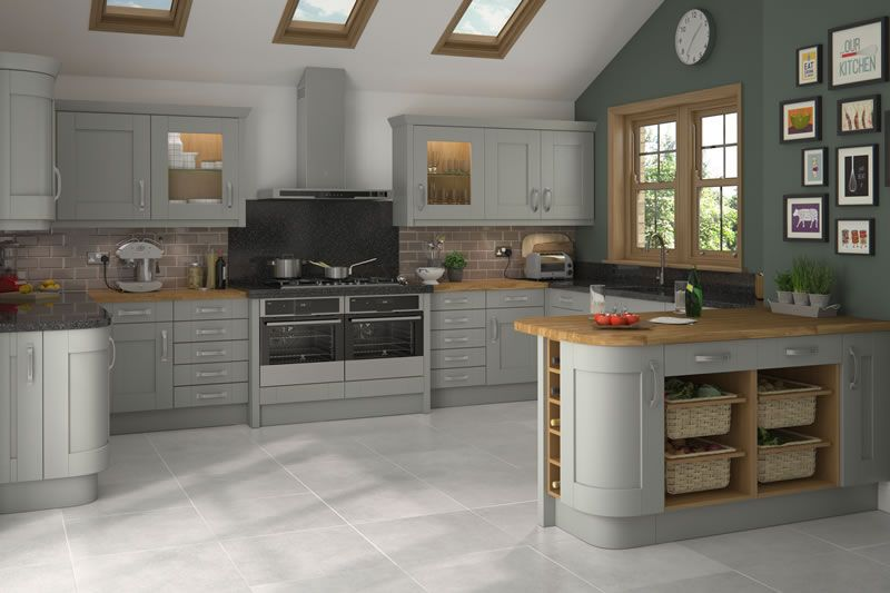 Malton Painted Lamp Room Grey Kitchens - Buy Malton Painted Lamp Room Grey  Kitchen Units at