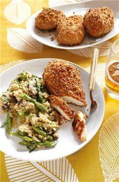 Low-fat southern unfried chicken