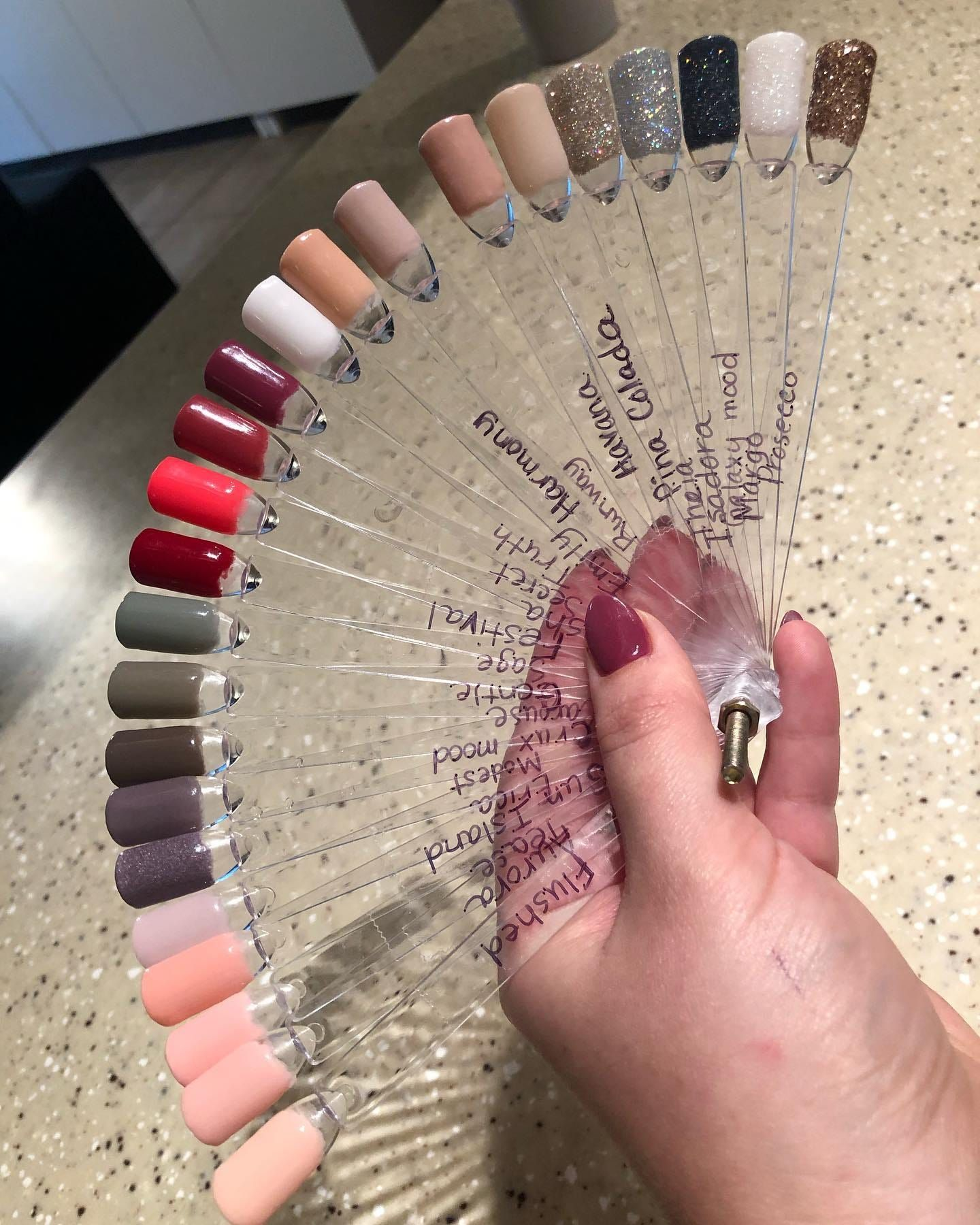 Swatch On Swatch On Swatch Revel Nail Dip Revel Nail Dip Powder Nail Dipping Powder Colors