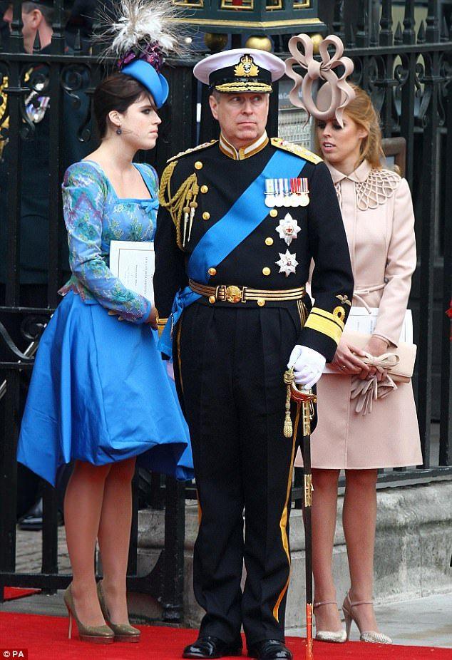princess beatrice eugenie royal wedding william