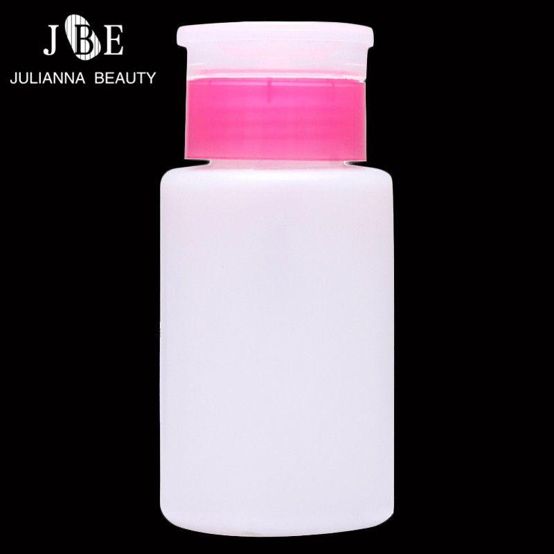 150ml Empty Dispenser Pump Nail Art Polish Liquid Alcohol Remover ...