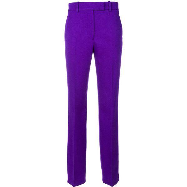 Pantalon À Bande Latérale Violet - Rose Et Violet Klein 205w39nyc Calvin 5gMpVY3s