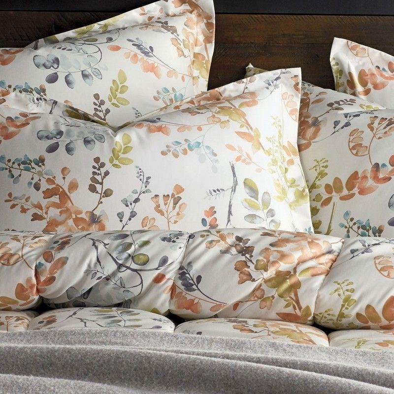 Hillside Floral WrinkleFree Comforter The Company Store