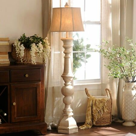 Chunky cozy floor lamp from kirklands home ideas pinterest floor lamp cozy and living rooms