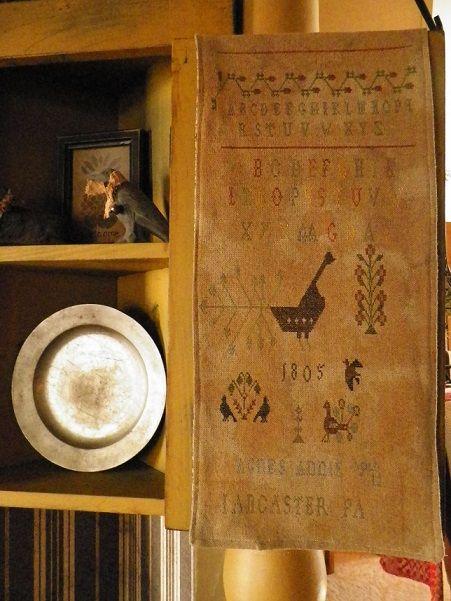 cupboard sampler