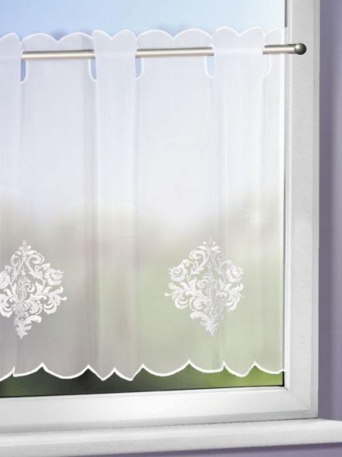 eleganter mit ornamenten bestickter scheibenpanneaux scheibengardinen g nstig kaufen. Black Bedroom Furniture Sets. Home Design Ideas