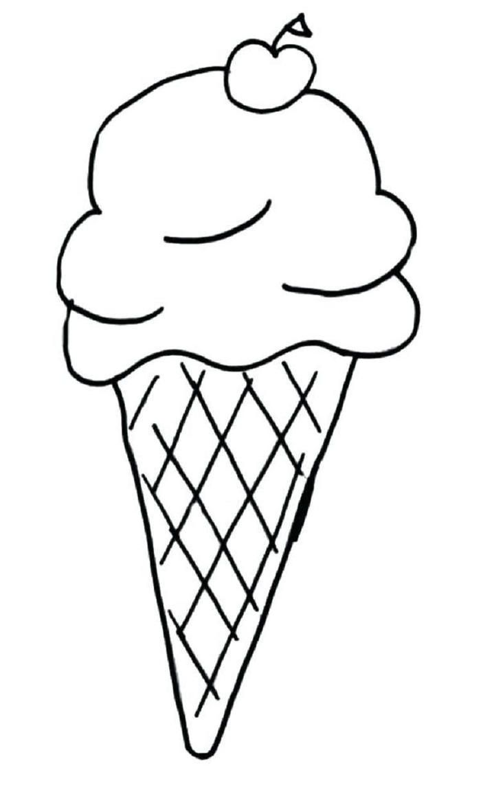 Ice Cream Coloring Pages For Toddlers Ice Cream Coloring Pages Coloring Pages Printable Coloring Pages