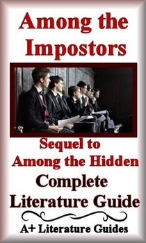 among the imposters novel study print and paperless among the rh pinterest com Among the Betrayed Among the Brave Trey