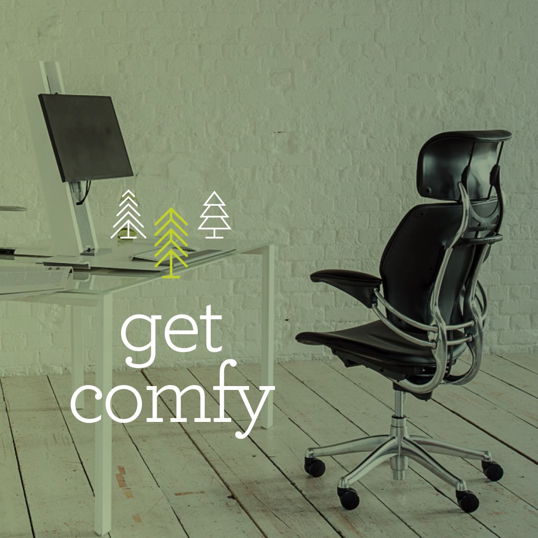 Humanscale Holiday Gift Guide 2017 Ergonomic Workstation Freedom Headrest Sit Stand Standing Desk Holiday Gift Guide Work Tools Black And White Chair