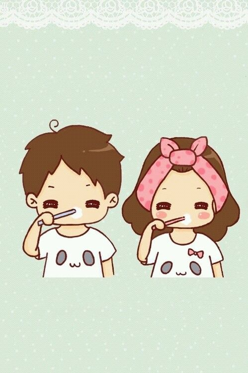 Cute Couple Cartoon Kawaii Pinterest Cute Couple