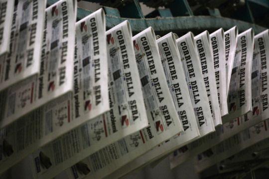Informazione Contro!: Il Corriere alle crociate