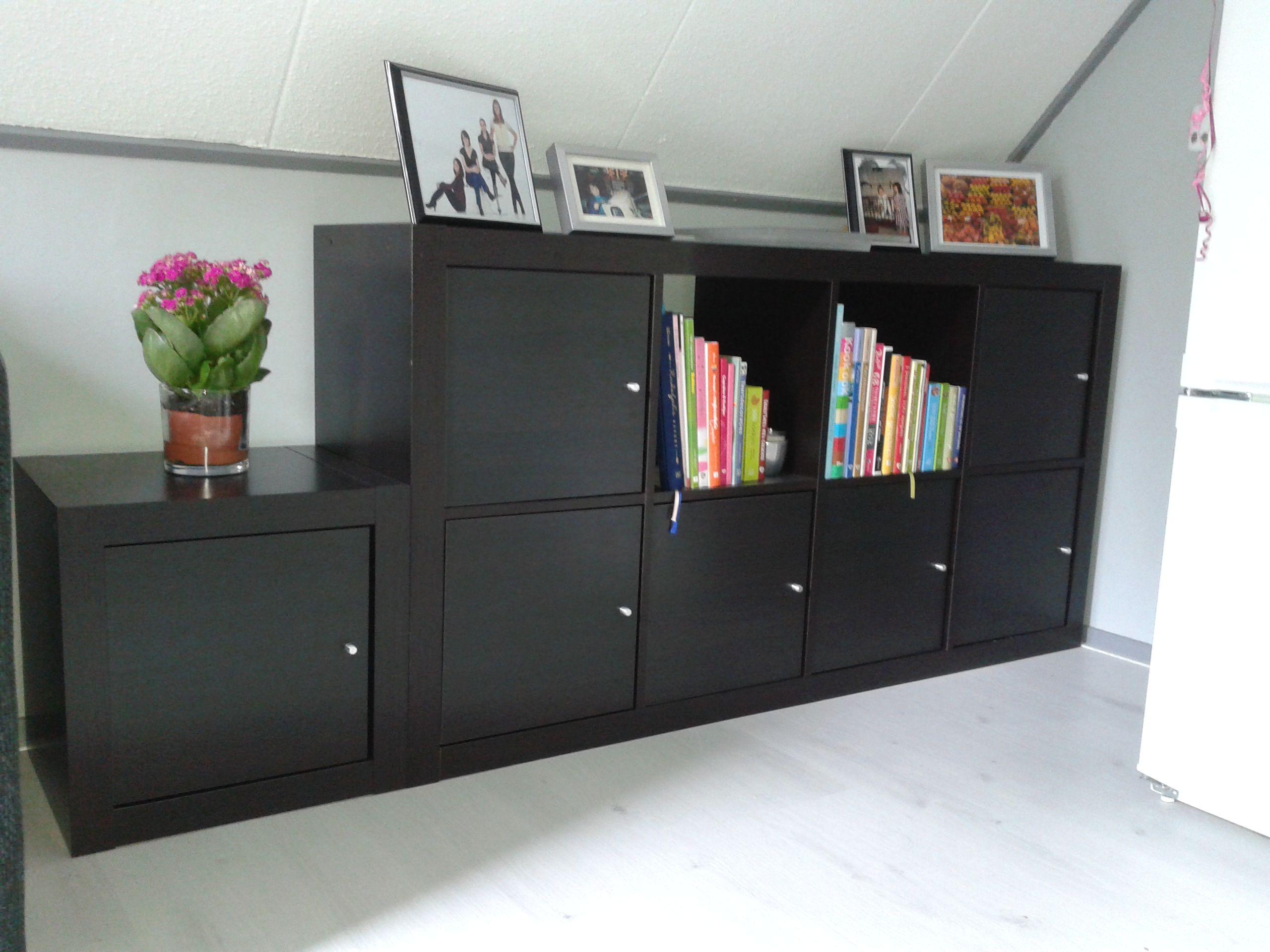 Ikea Kallax Kast Met Deurtjes 2x4 Vaks1 Los Vak Kallax