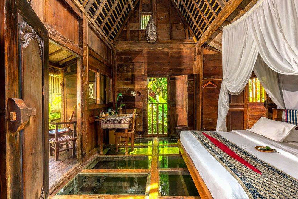 Udang house bambu indah resort in ubud bali