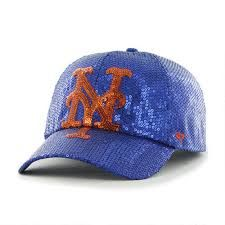 My Mets cap...100% sequins and so very sparkly