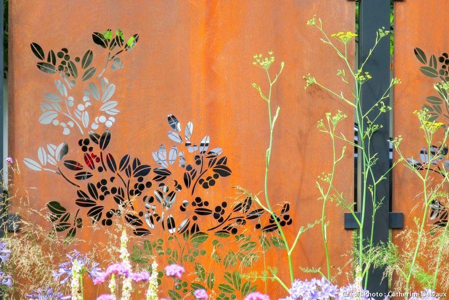 L Acier Corten L Atout Chic Du Jardin Corten Jardins Acier
