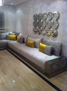 finest salon marocain moroccan with tapisserie sejour salon - Salon Marocain Peinture Gris