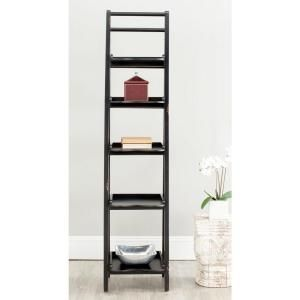 Safavieh Asher Black Ladder Bookcase Amh6537b Home Decor