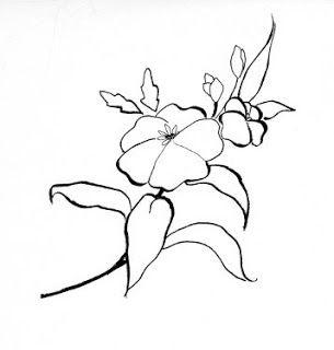 Patrones para pintar en tela patrones gratis para pintar flores bordado y manualidades - Dibujos para pintar en tela ...