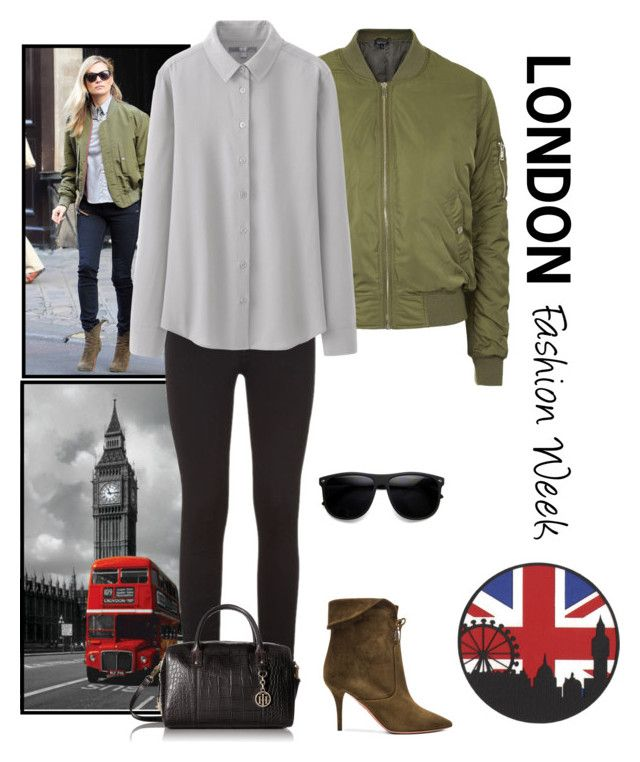 """""""Pack and Go: London"""" by nerdtastic81 ❤ liked on Polyvore featuring Aquazzura, Topshop, rag & bone, Uniqlo, Tommy Hilfiger, women's clothing, women, female, woman and misses"""