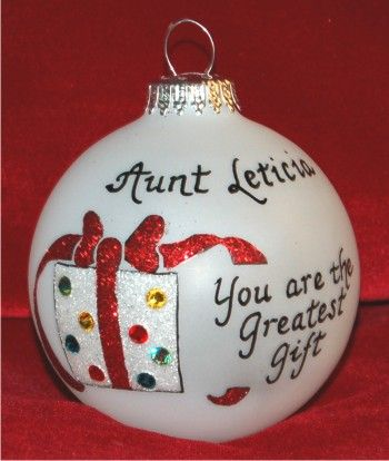 Very Special Aunt Ornament Personalized Christmas Gift - Very Special Aunt Ornament Personalized Christmas Gift Aunt And