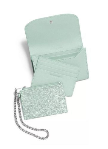 NWT MICHAEL Michael Kors Juliana Celadon Saffiano Leather Medium Wallet Wristlet https://t.co/F8oTgsBKlt https://t.co/SrsIv2tMJn
