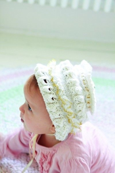 e6b661d8d56 Frilly Baby Hat Knitting Pattern Download