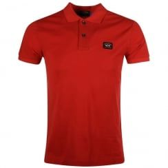 Paul & Shark Red Polo Shirt. Available now at www.brother2brother.co.uk