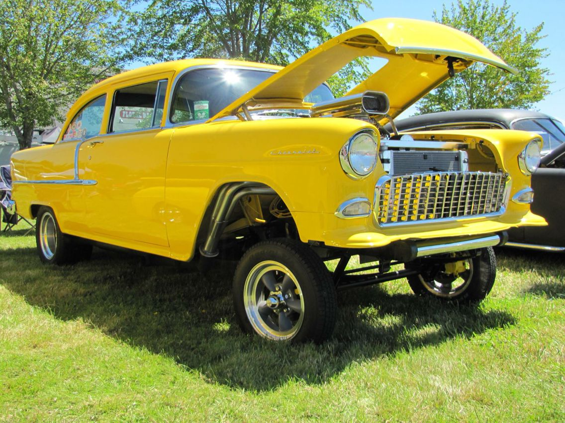1955 chevrolet hot rod truck pictures to pin on pinterest -  1955 Chevy Re Pin Brought To You By