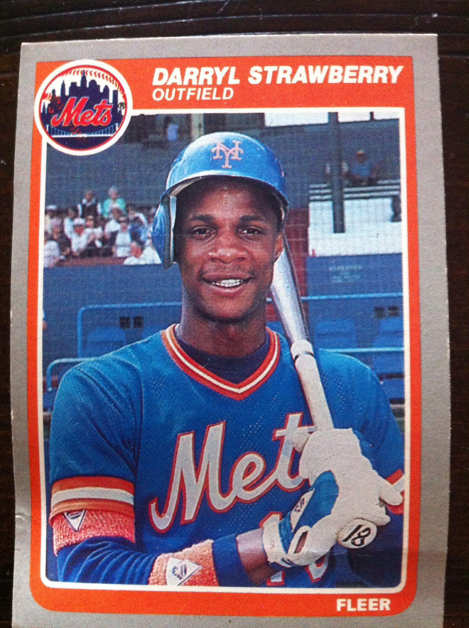 Daryl Strawberry Baseball Cards Baseball Old Baseball Cards
