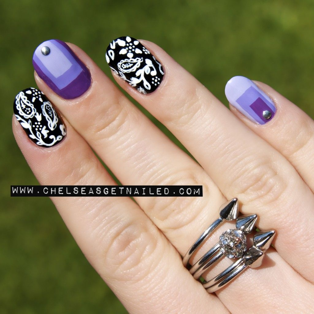 Paisley Nails www.chelseasgetnailed.com