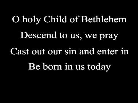 O Little Town of Bethlehem (lyrics) - Steven Curtis Chapman | Lyrics, Merry christmas to you ...